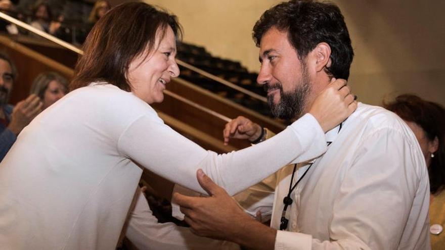Bescansa y Gómez-Reino (en una imagen de archivo) compitieron en las primarias de Podemos Galicia