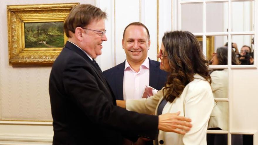 Desbloqueado el acuerdo de la izquierda valenciana para investir a Ximo Puig