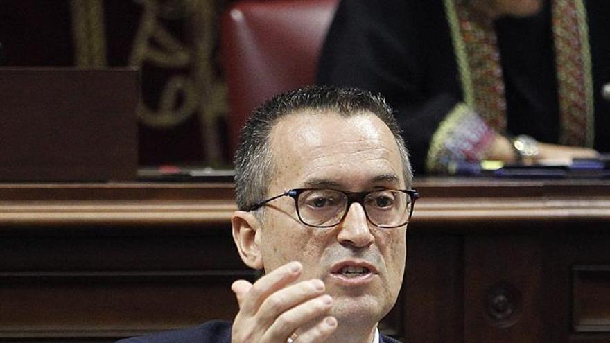 El presidente del grupo Nacionalista, José Miguel Ruano