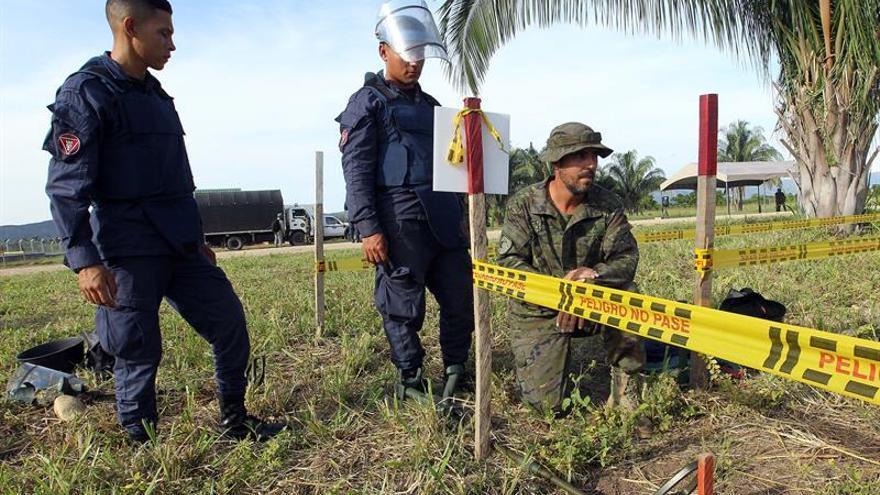Colombia inicia el desminado en más de 1,5 millones de metros cuadrados