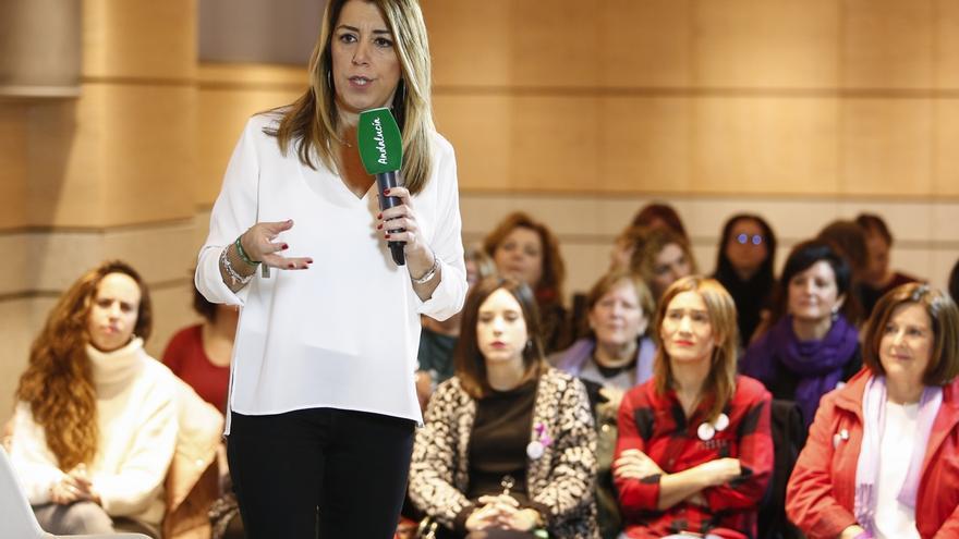 """Más de 160 mujeres firman un manifiesto feminista de apoyo a Susana Díaz como """"garante"""" del avance de la igualdad"""