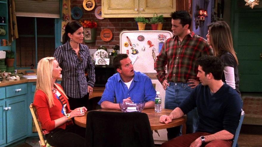 Fotograma de 'Friends' en su novena temporada