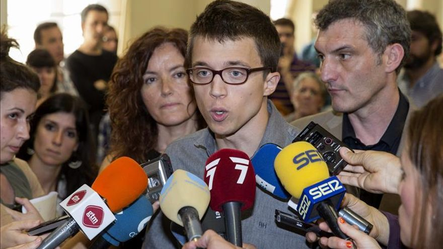 Errejón dice que Monedero sigue trabajando en la coordinación del programa