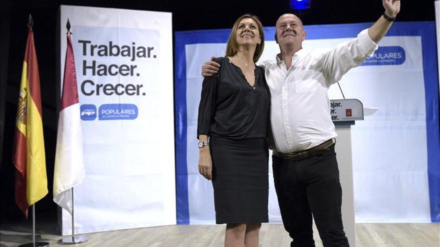Cospedal critica que, antes, sólo se hablaba de agua en campaña electoral