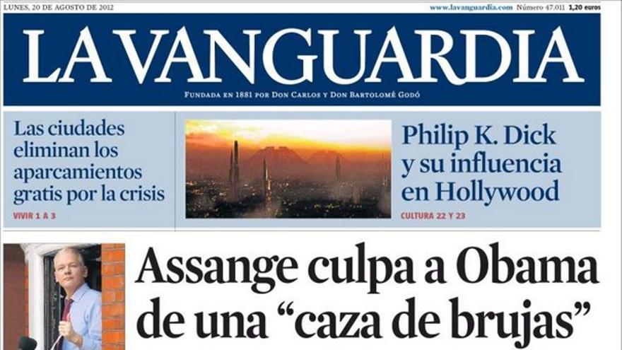 De las portadas del día (20/08/2012) #8