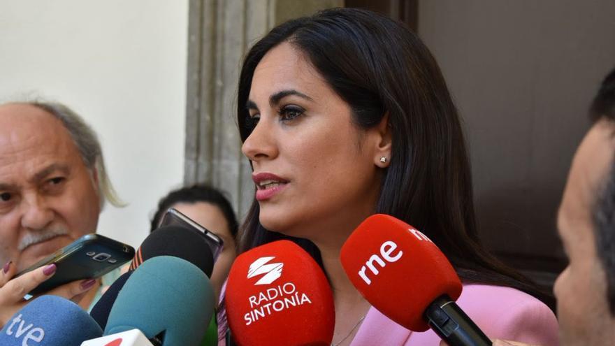 La portavoz de Ciudadanos en el Parlamento de Canarias, Vidina Espino.