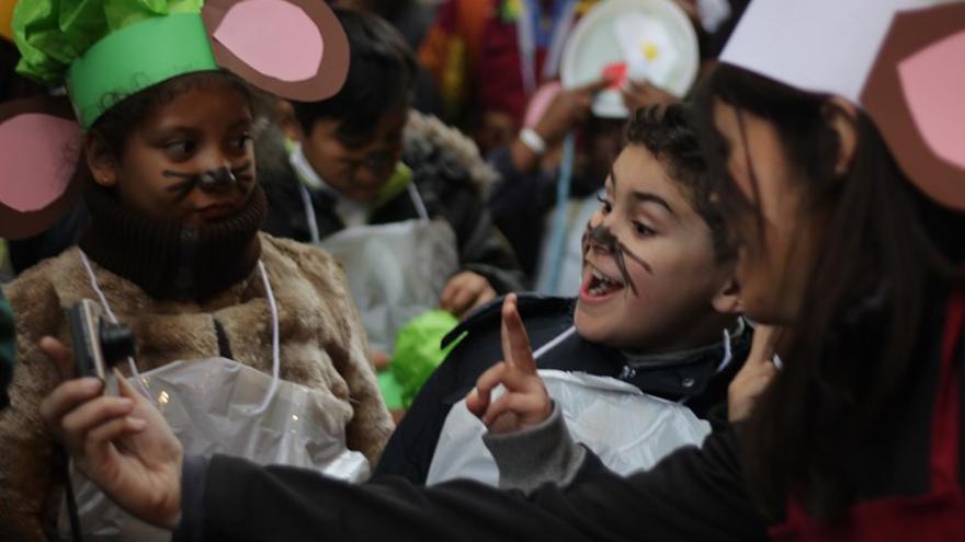 Un momento del desfile de carnaval, en 2016 | SOMOS MALASAÑA