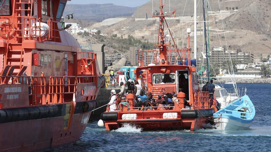 Llegan 170 migrantes a Canarias este lunes