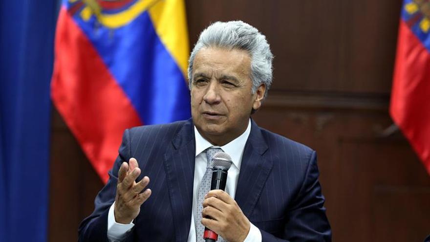 """Moreno llama """"asno"""" a Maduro y lo culpa de la violencia en las protestas en Ecuador"""