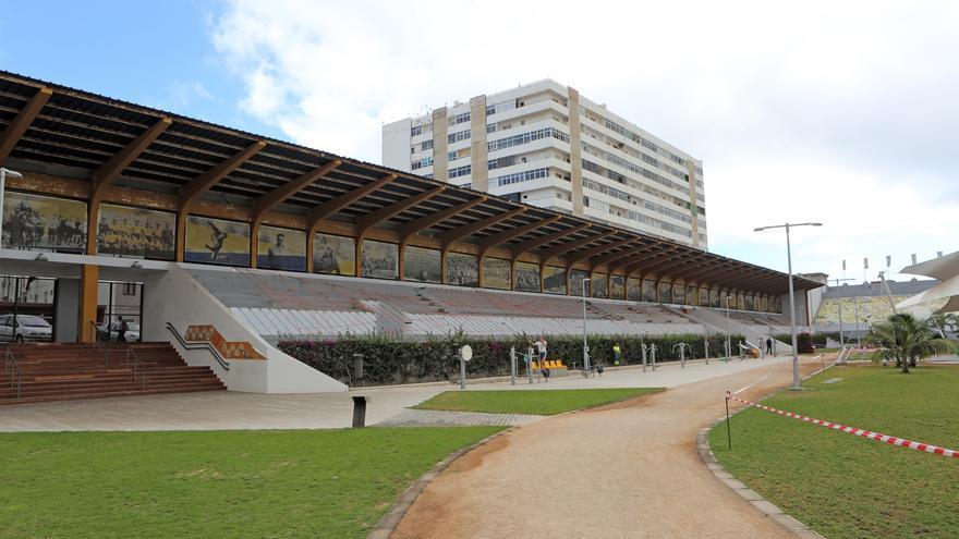 Estadio Insular.