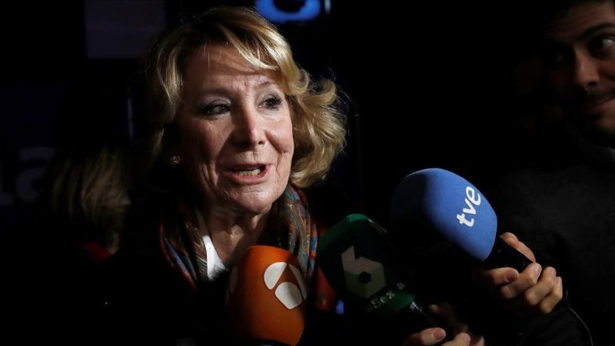 """Aguirre insta a hacer del PP la casa común de una """"derecha dividida en tres"""""""