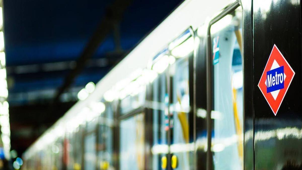 Un vagón de Metro de Madrid