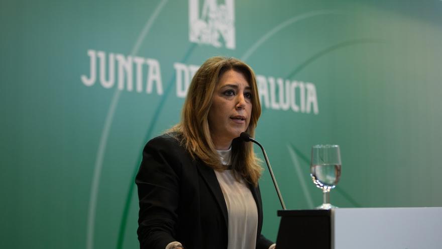 """Susana Díaz anuncia medidas para """"no alterar la jornada presencial y que no haya despidos"""" tras el fallo de las 35 horas"""