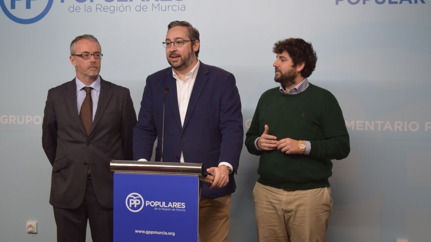 Víctor Manuel Martínez, portavoz del PP en la Asamblea Regional de Murcia