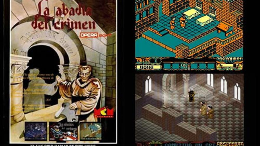 La abadía del crimen (Ópera Soft, 1987)