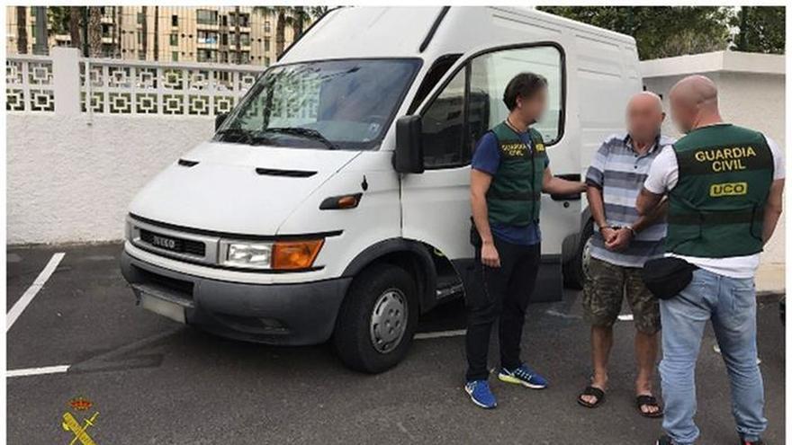 Detenido en Canarias un violento septuagenario que atracaba joyerías por Europa