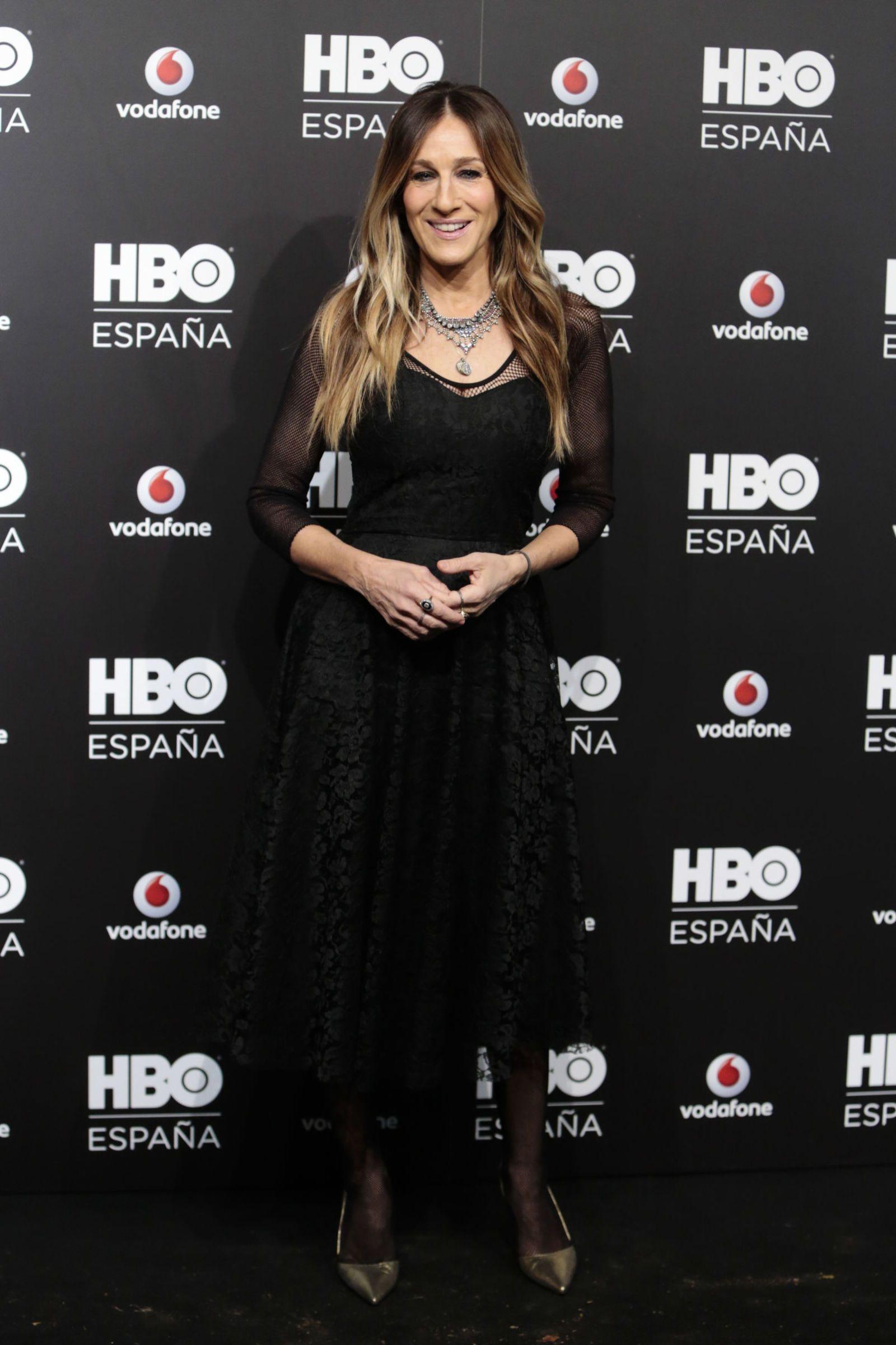 Sarah Jessica Parker, con el vestido comprado en Malasaña