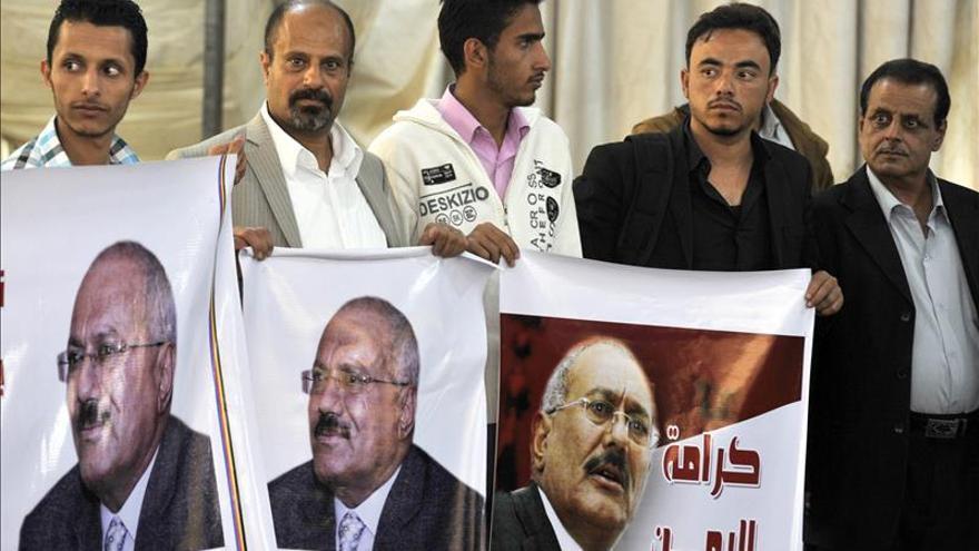 Saleh destituye al presidente yemení de su cargo en el partido