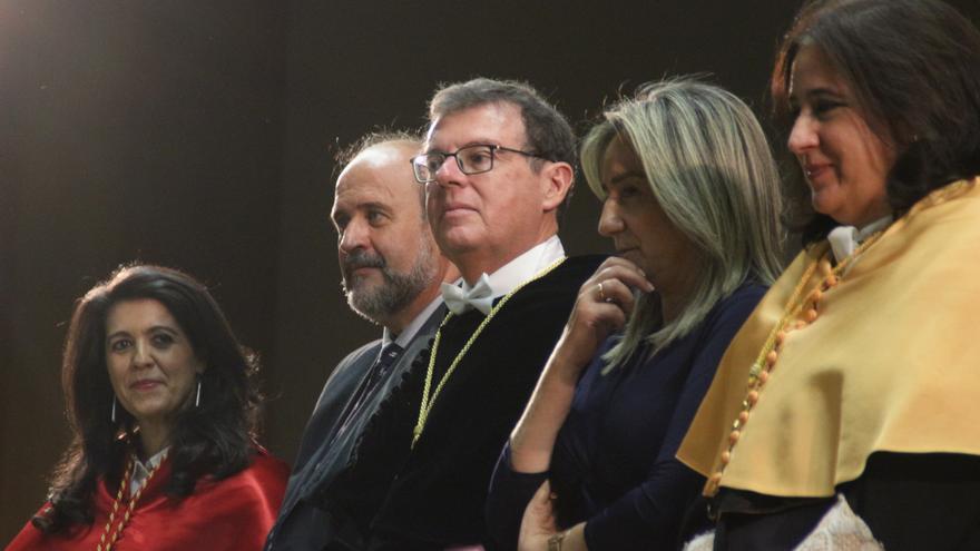 Miguel Ángel Collado, rector de la UCLM