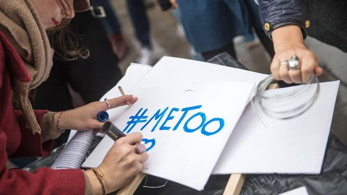 Protesta contra el acoso sexual
