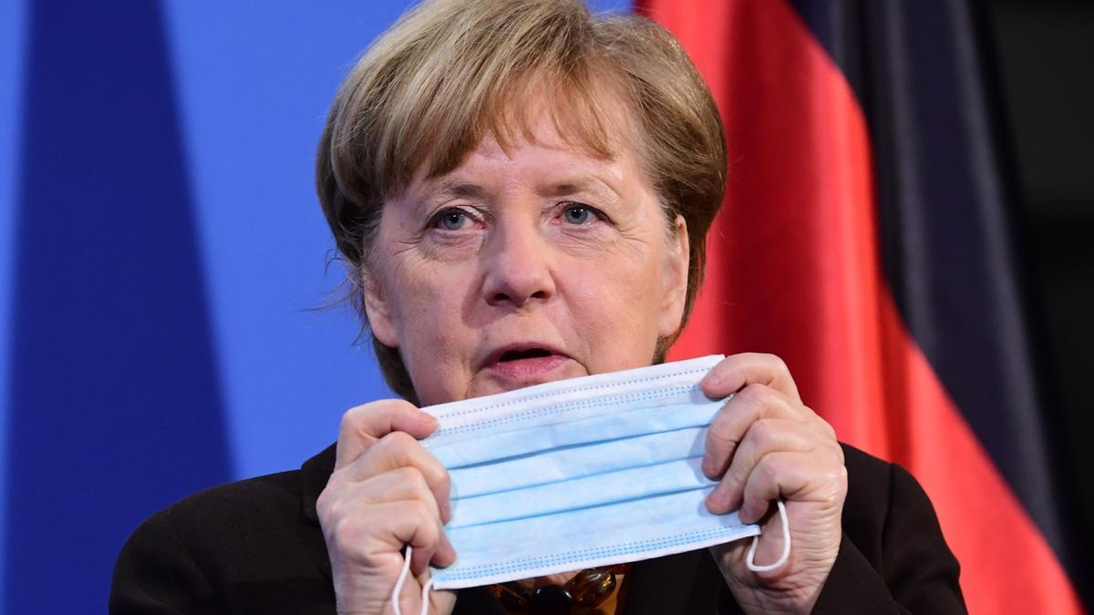 La canciller federal, Angela Merkel.