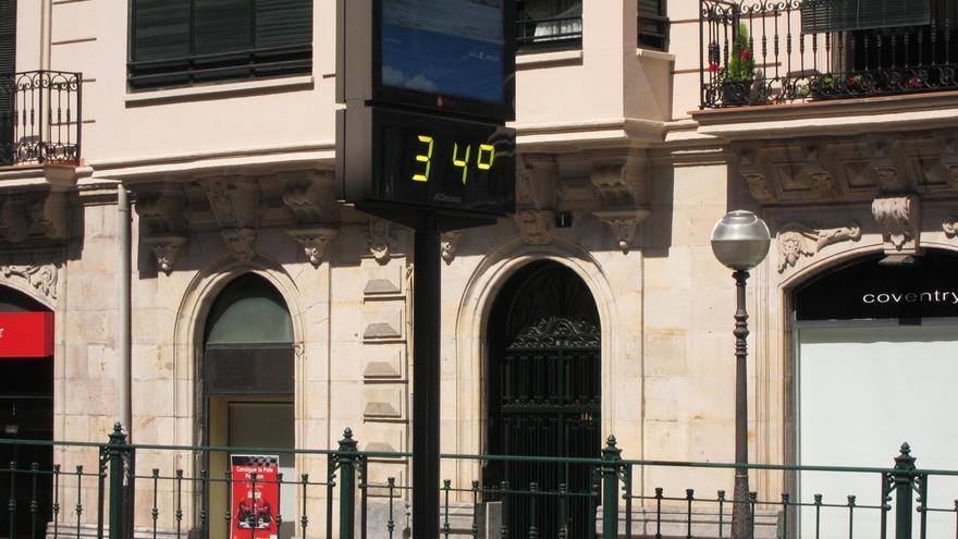 Registrados 35,9 grados centígrados en Arrasate (Gipuzkoa) y en el barrio bilbaíno de Deusto