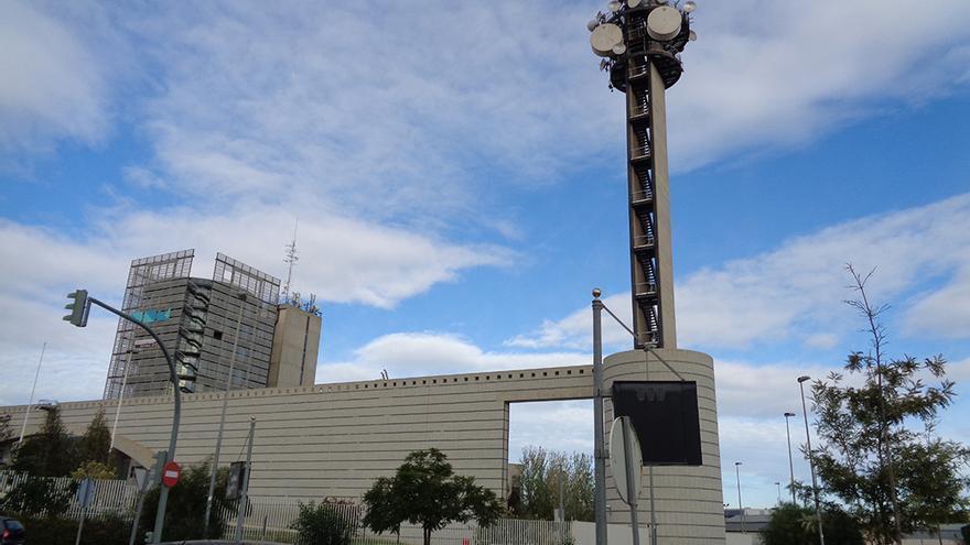 Les instal·lacions de RTVV a Burjassot, des d'on emetia Canal 9.