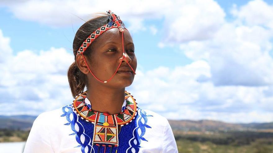 La keniana Nice Nailantei ha salvado a unas 15.000 niñas de ser mutiladas genitalmente.