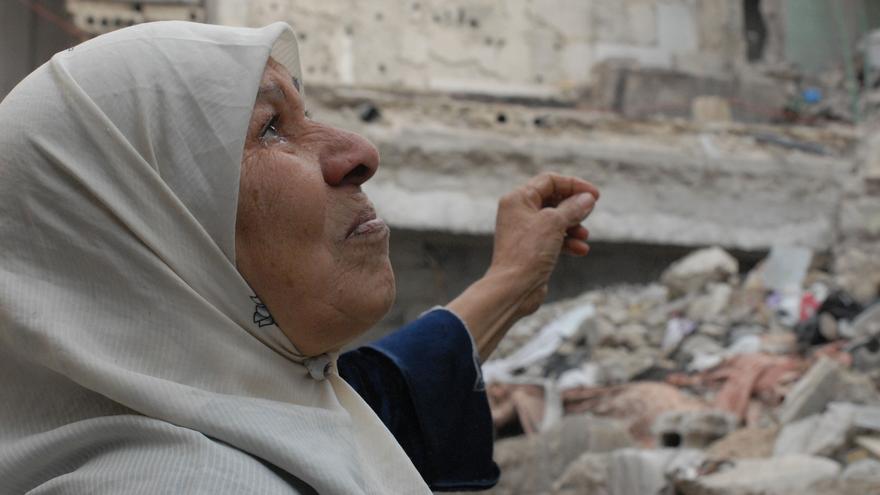 Una década de la guerra en Siria.