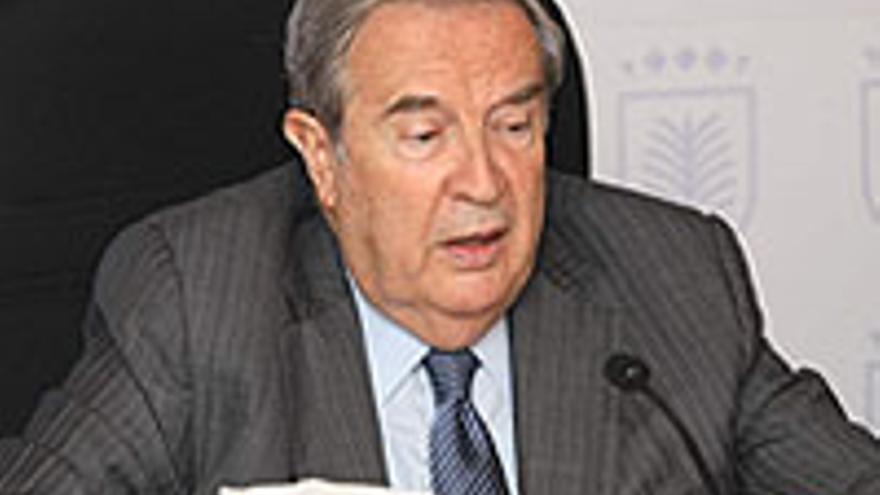 Jerónimo Saavedra, alcalde de Las Palmas de Gran Canaria.