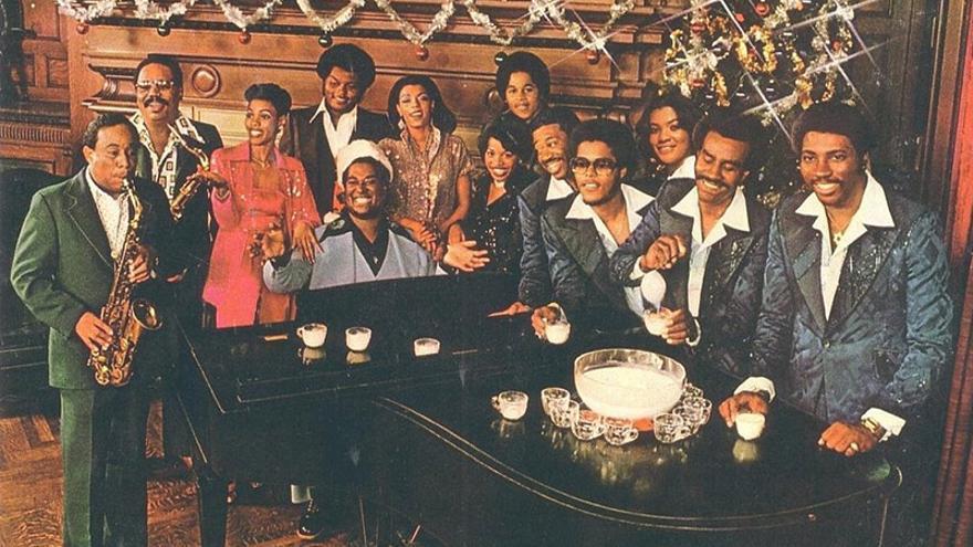 Portada del LP 'Funky Christmas'