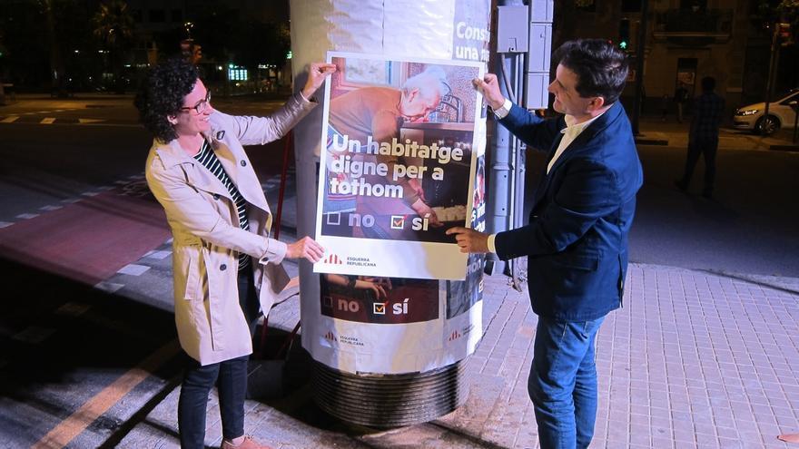 """ERC empieza la precampaña del referéndum defendiendo el 'sí' para un """"país mejor"""""""