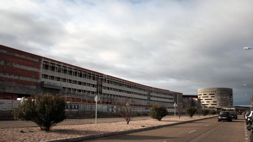 Vista del Hospital Universitario de Toledo, febrero 2014