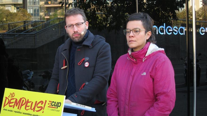 """La CUP no se reconoce en la Constitución y no quiere una """"versión catalana"""""""