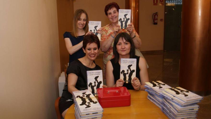 Integrantes de la Asociación 'Por una sonrisa. Jesús Pellicero Durán'. Foto: Antonio Pizarro