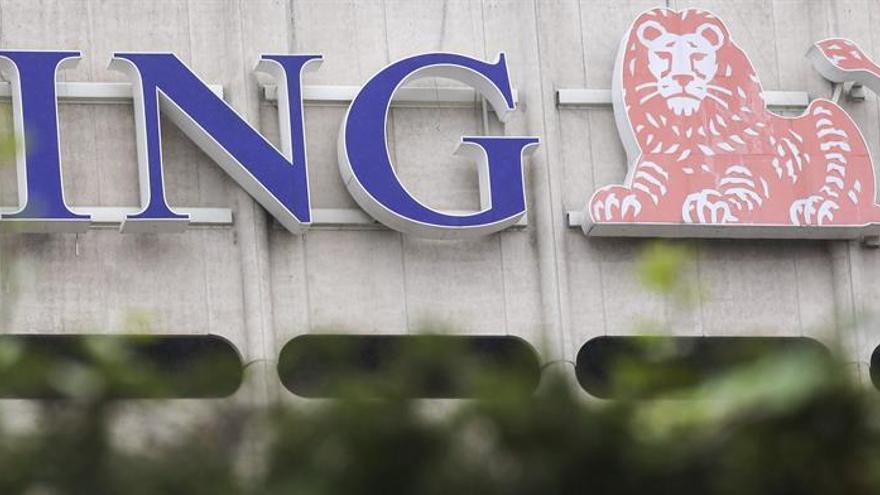 ING redujo su beneficio neto un 1,5 % en junio, hasta 2.514 millones de euros