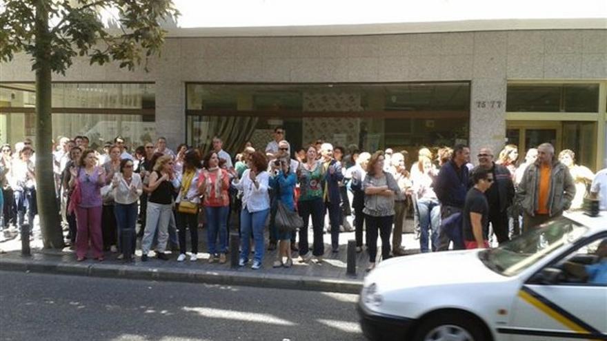 De protestas de funcionarios en LPGC #16