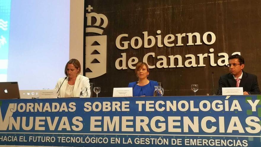 Acto de inauguración de las V Jornadas sobre Tecnología y Nuevas Emergencias.