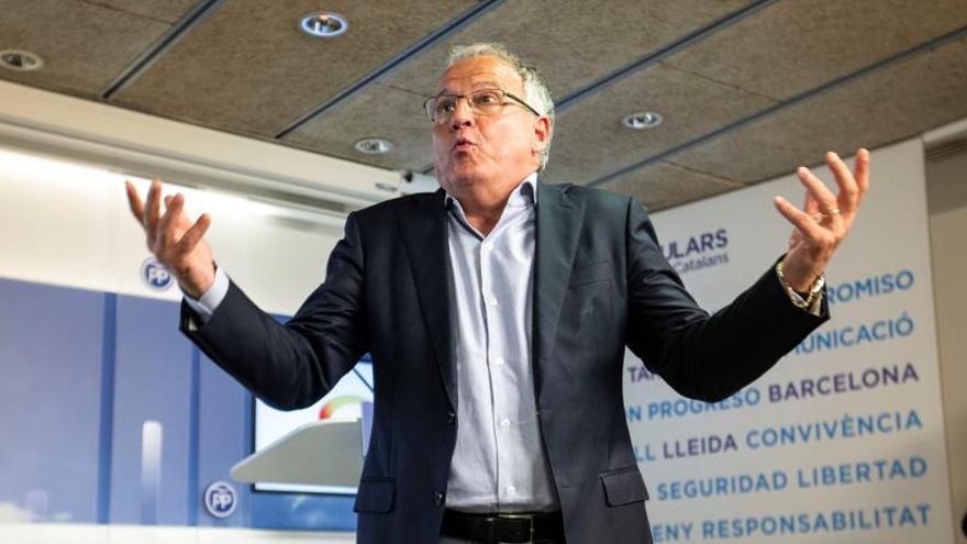 """Josep Bou dice que fue un error presentar a Álvarez de Toledo: """"Los catalanes queremos gente de casa"""""""