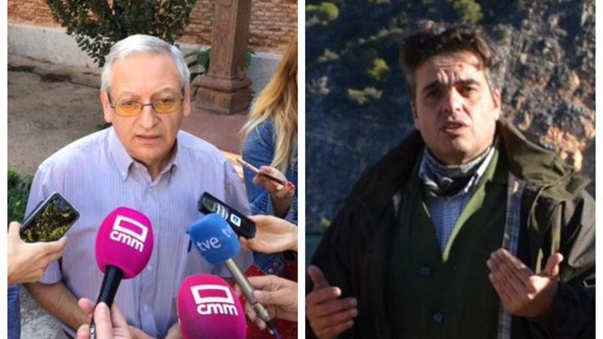 Alejandro Cano, a la izquierda, y Miguel Ángel Sánchez, a la derecha