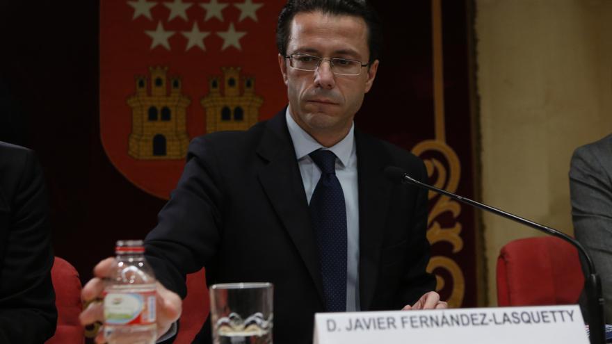 El consejero madrileño de Sanidad, Fernández Lasquetty al presentar su plan de medidas