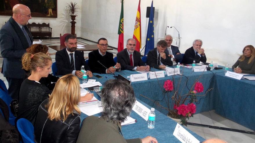 Asamblea en Moguer de la red de entidades transfronterizas de España y Portugal
