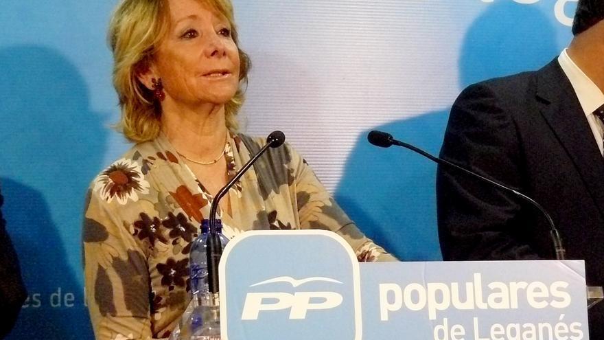 """Aguirre ve """"chocante"""" que al Ayuntamiento de Madrid le parezca """"mal"""" que la Comunidad presente proyecto para la Cañada"""