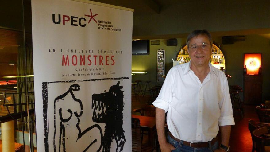 Jordi Serran, rector de la UPEC durant la presentació de l'edició d'aquest any