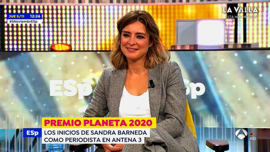 Sandra Barneda, en 'Espejo Público'
