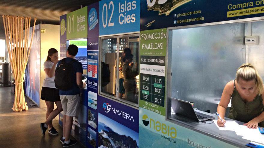 Venta de billetes para Cíes en Baiona