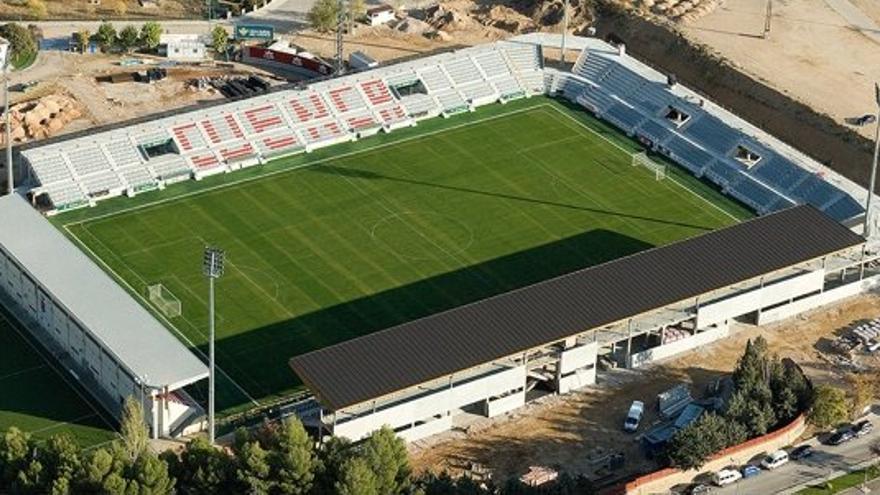 Estadio de la Fuensanta, Cuenca. / Foto: seccionalbinegra.blogspot.com
