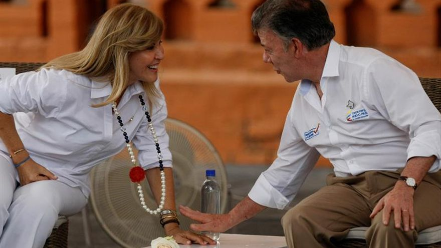 """Santos invita a los colombianos a decirle """"sí"""" a la paz en el plebiscito"""
