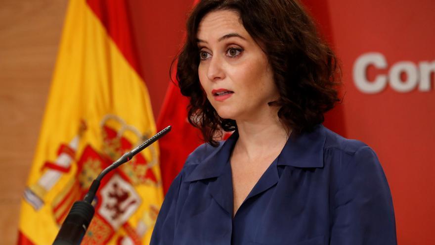 """Díaz Ayuso: """"Madrid no debe estar en alarma. Si no es libre no será Madrid"""""""