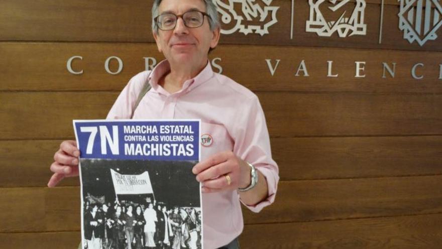 El diputado autonómico y candidato de Podem, Daniel Geffner